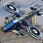 Drone Attack Shadow: Stealth Gunship Strike War Icon