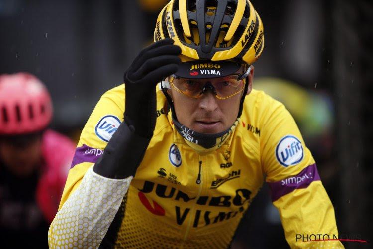 Gros coup dur pour Gesink ! Sa chute sur Liège-Bastogne-Liège le privera du Giro