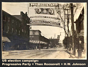 Photo: Camden county US election campaign Progressive Party + Theo Roosevelt + H.W. Johnson