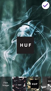 HUF Marijuana Smoke Screen Lock - náhled