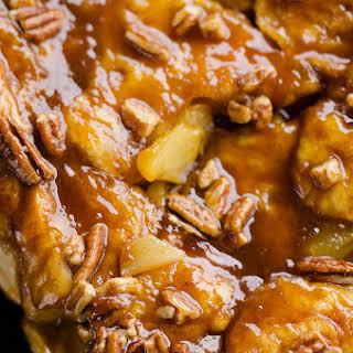 Caramel Apple Pecan Monkey Bread.
