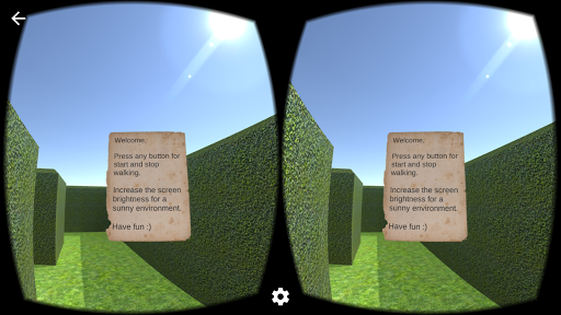 VR Maze Game screenshot for Android