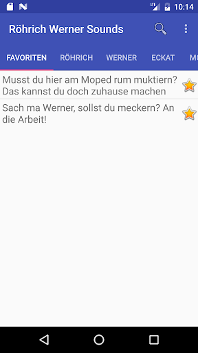 Ru00f6hrich Werner Soundboard 1.08 screenshots 3