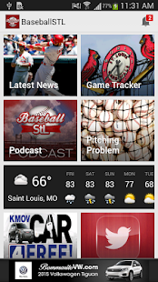 BaseballStL St. Louis Baseball - screenshot thumbnail