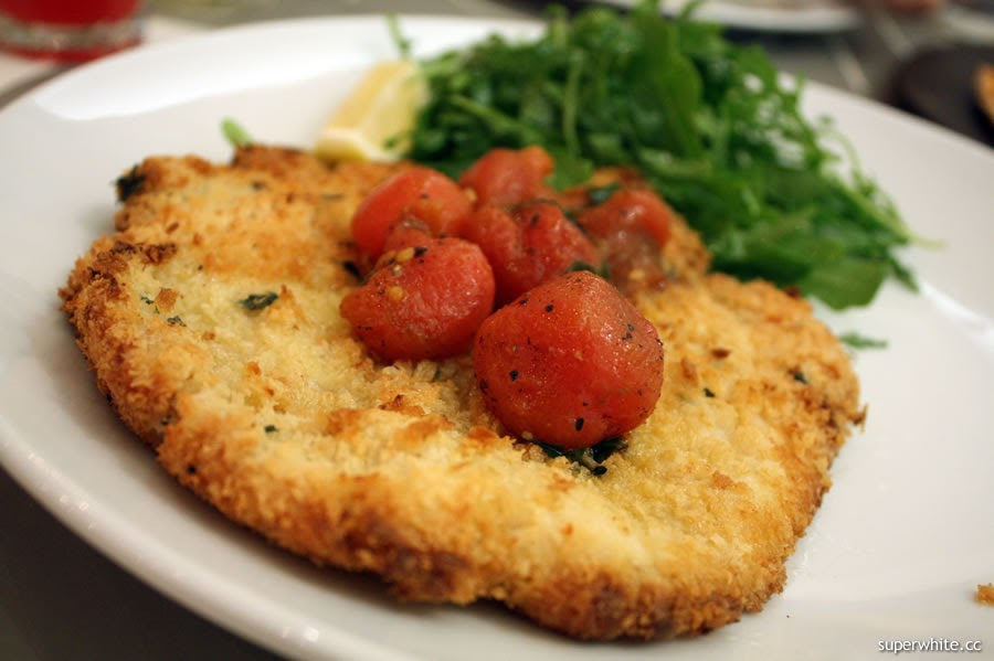 Alexis Bistro at The Gardens - Chicken Escalope