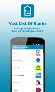 Net Banking App for All Banks of India - náhled