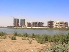 Photo: Nile river in Khartoum