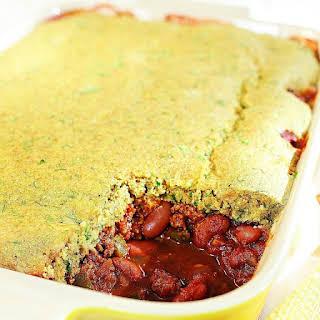Chili Cornbread Casserole.