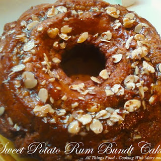 Sweet Potato Rum Bundt Cake
