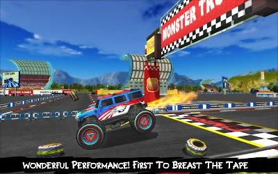Monster Truck Racing Xtreme: Destruction & Stunt