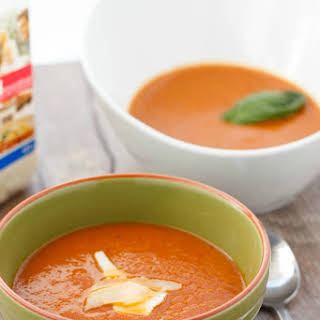Roasted Tomato and Garlic Soup.