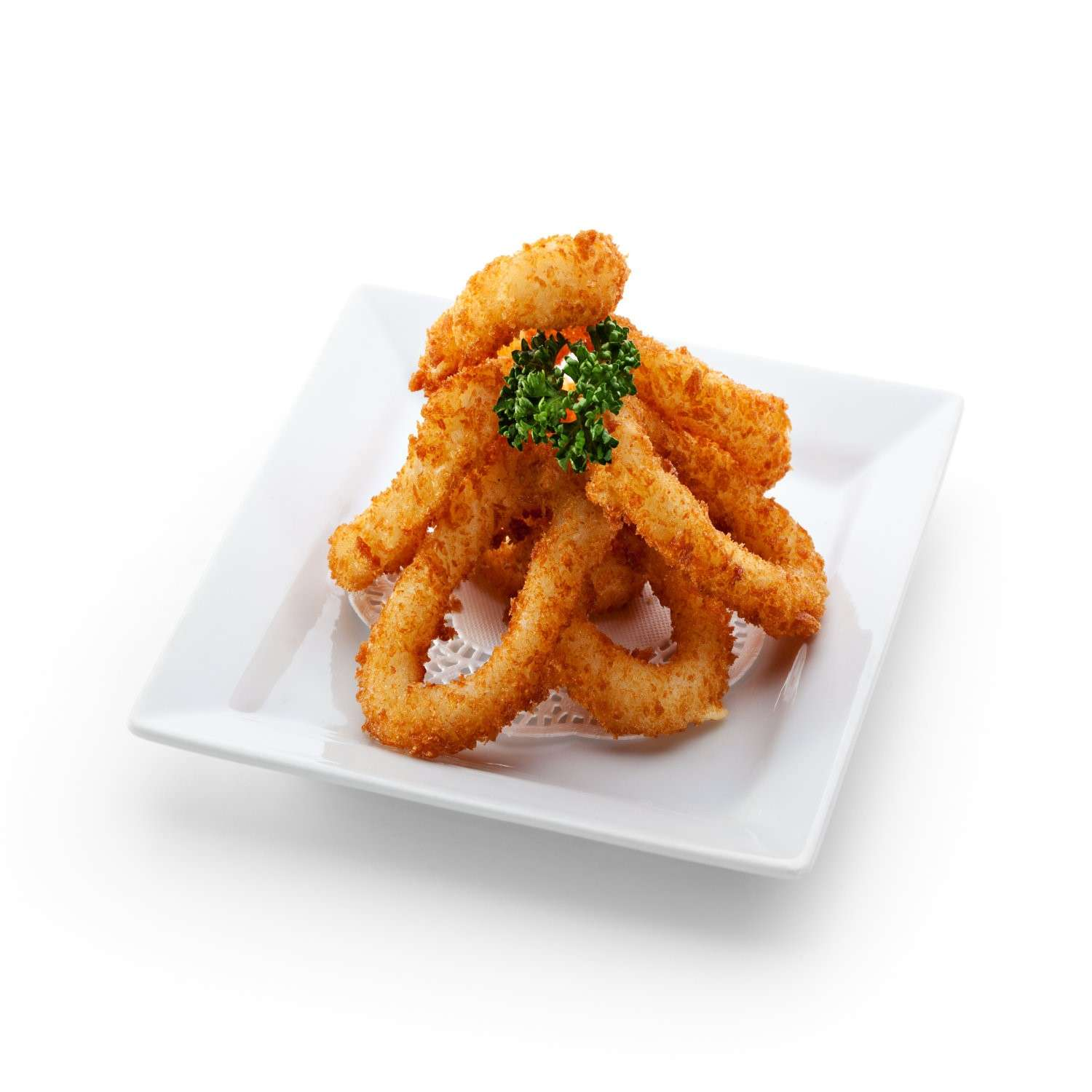Squid Cephalopods Coated
