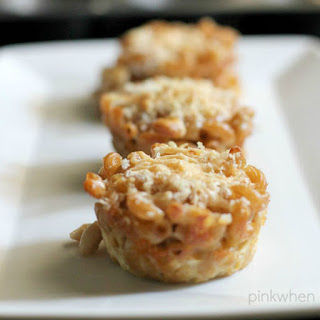 Homemade Macaroni and Cheese Muffin Cups