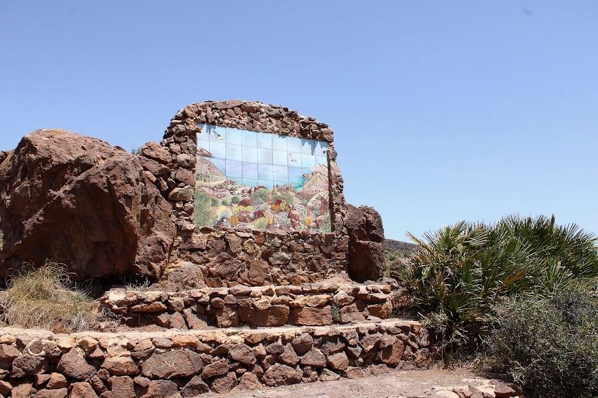 Mosaico del Mirador de la Amatista.