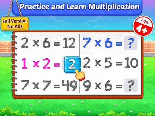 Multiplication Kids - Math Multiplication Tables android2mod screenshots 9