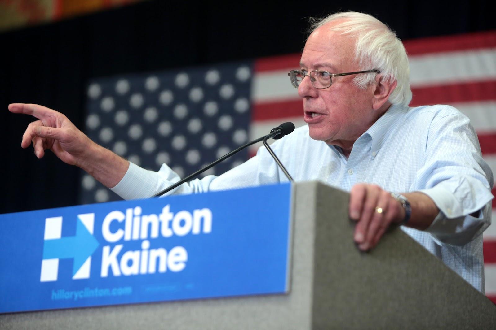 """""""Sanders revela um lado de resistência norte-americana, sem dúvida nenhuma, e que pode ganhar força durante o governo Trump"""", diz o professor (Foto: Flickr/Gage Skidmore)"""