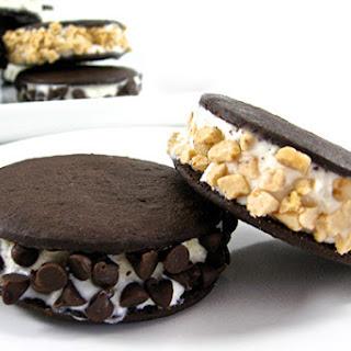 Skinny Mini Ice Cream Sandwiches