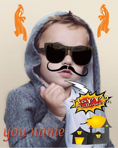 玩免費通訊APP|下載Halloween Sticker Photo Editor app不用錢|硬是要APP