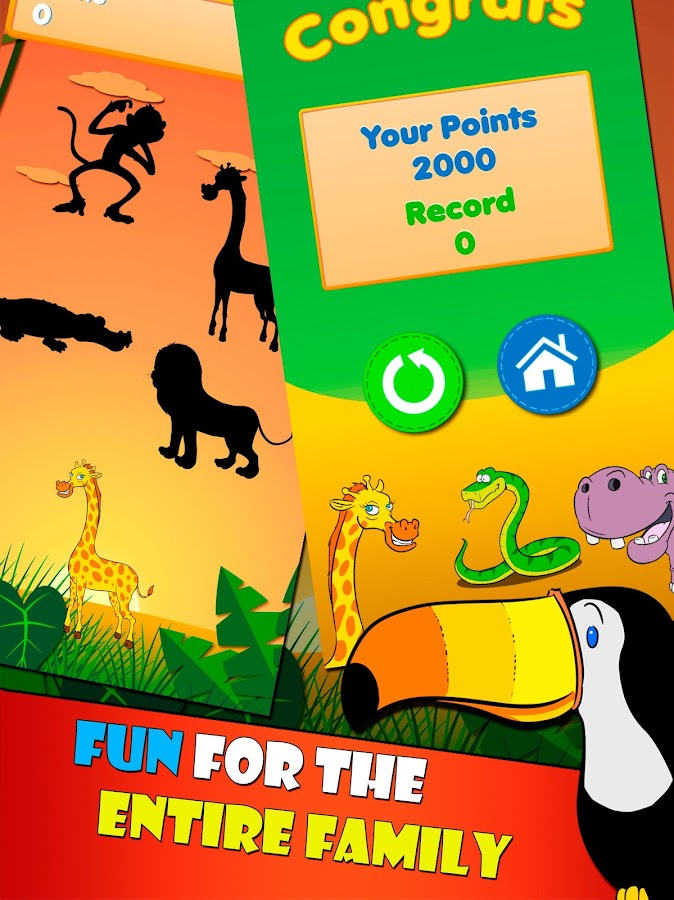 Tap Animals Minigames- screenshot
