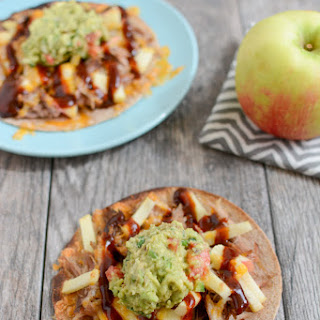 Pulled Pork and Apple Tostadas.