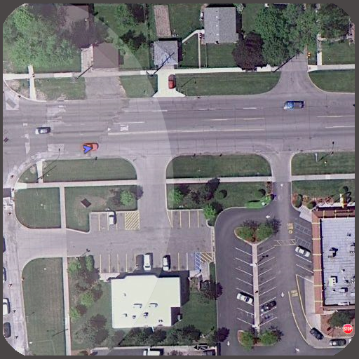 Live maps Satellite view- screenshot