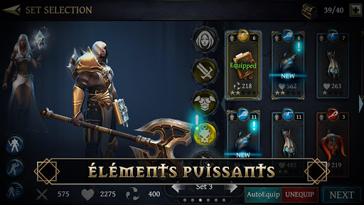Télécharger Gratuit Blade Bound: Legendary Hack and Slash JDR d'action mod apk screenshots 3