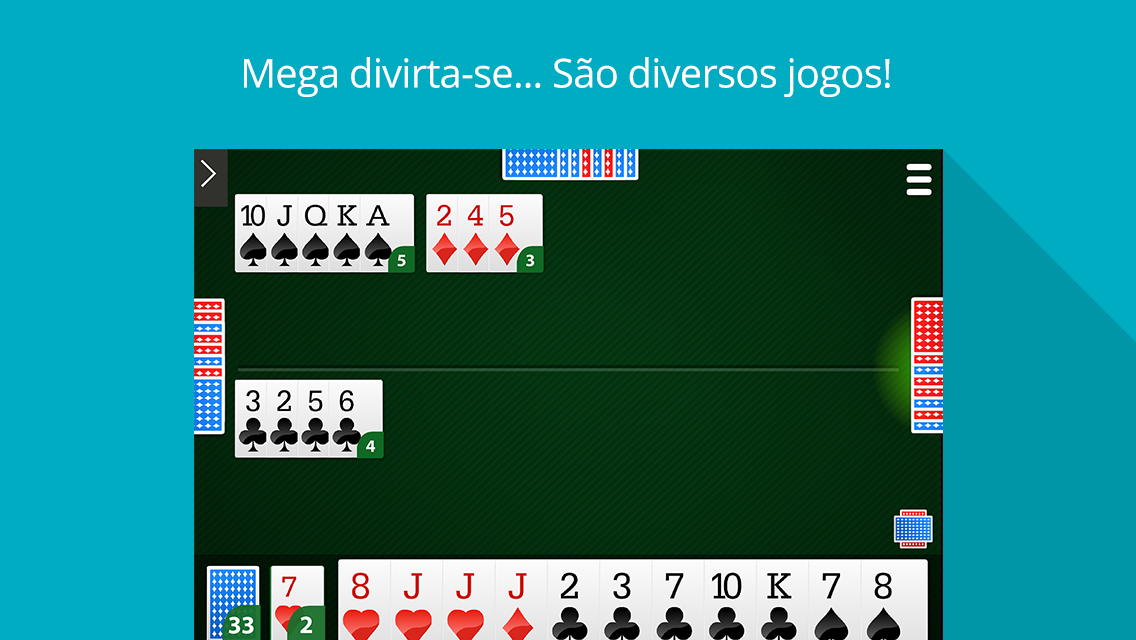 MegaJogos Card and Board Games- screenshot