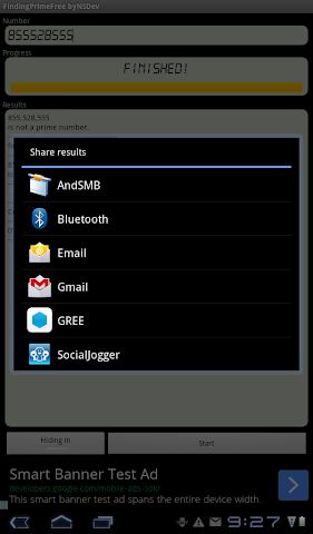 android FindingPrimeFree byNSDev Screenshot 10