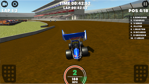 Screenshot for Outlaws - Sprint Car Racing 2019 in United States Play Store