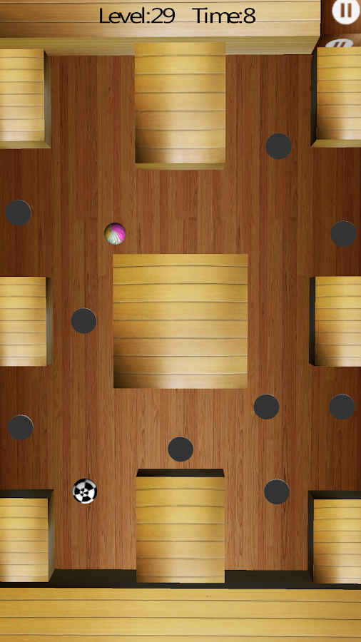 3D Maze Ball- screenshot