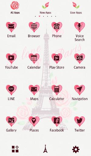 I Love Paris Wallpaper 1.0.0 Windows u7528 3