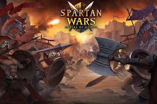 スパルタ戦争:栄誉の帝国