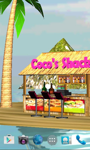 Beach Bar HD LWP FREE