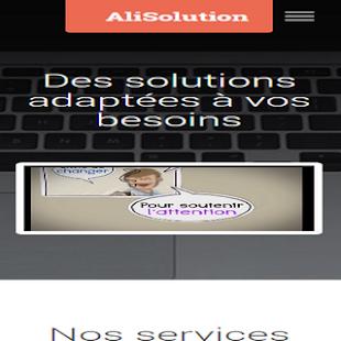 AliSolution - náhled