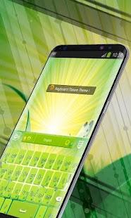 Keyboard Green Nature - náhled