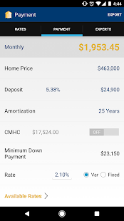 The Collin Bruce Mortgage App- screenshot thumbnail