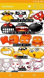 Emoticons for Chats- screenshot thumbnail