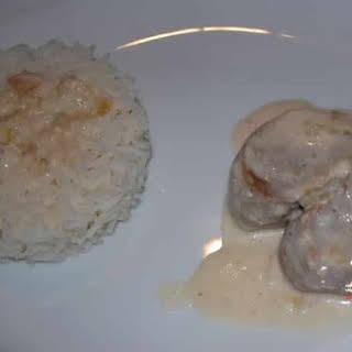 Filet Mignon with Horseradish Sauce.