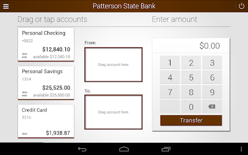 Patterson State Bank Mobile Screenshot 8