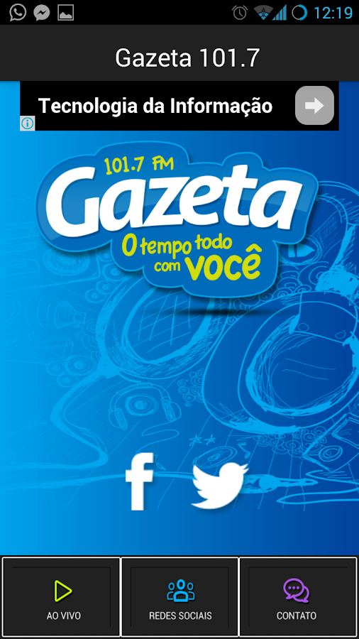 Gazeta 101,7 FM- screenshot