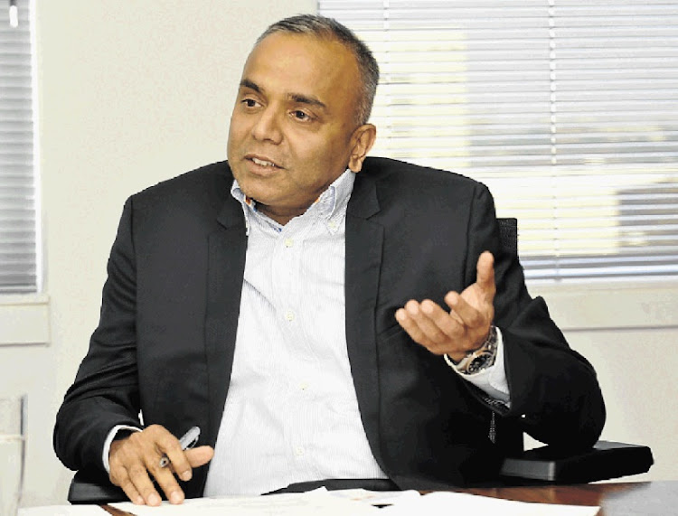 CEO Ramachandran Ottappath is upbeat about the company's coming JSE listing.  Picture: FREDDY MAVUNDA