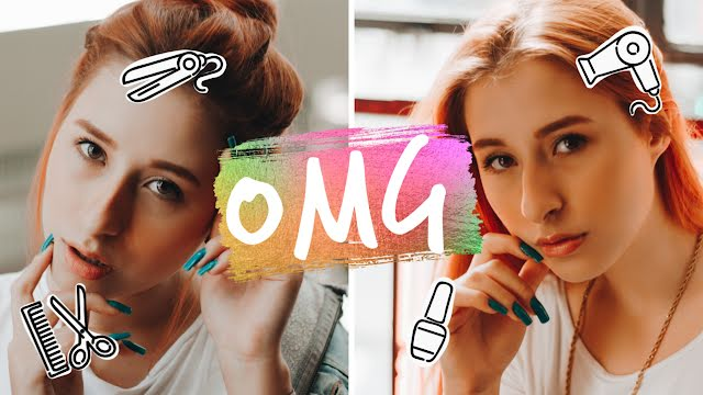 Beauty Before & After - YouTube Thumbnail Template