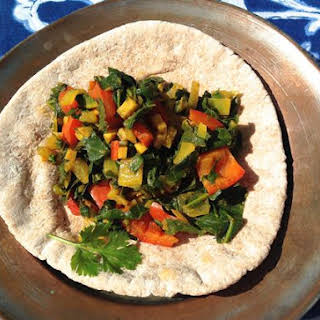 Gomen Wat (Ethiopian Collard Stew).
