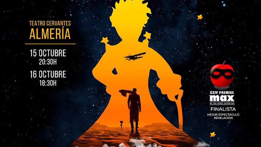 Cartel promocional sobre el musical 'Antoine'.