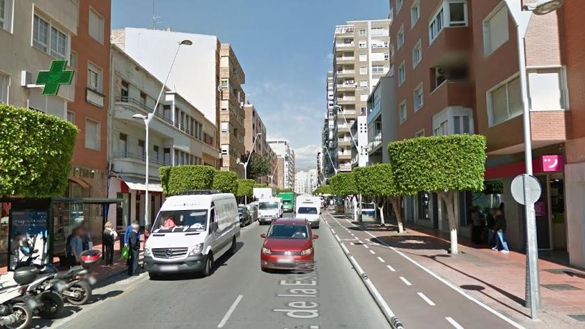 Avenida de la Estación de la capital
