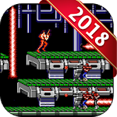 Classic Contra Soldier - 2 Games Contra