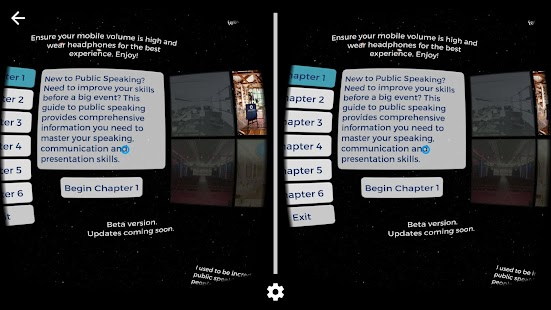 Public Speaking for Cardboard Screenshot 7