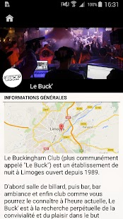 Le Buck' Limoges- screenshot thumbnail