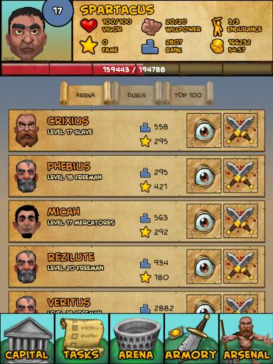 Gladiator: Rise Of Legends 2.13 screenshots 10