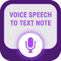 Voice Notes to Text Notes icon